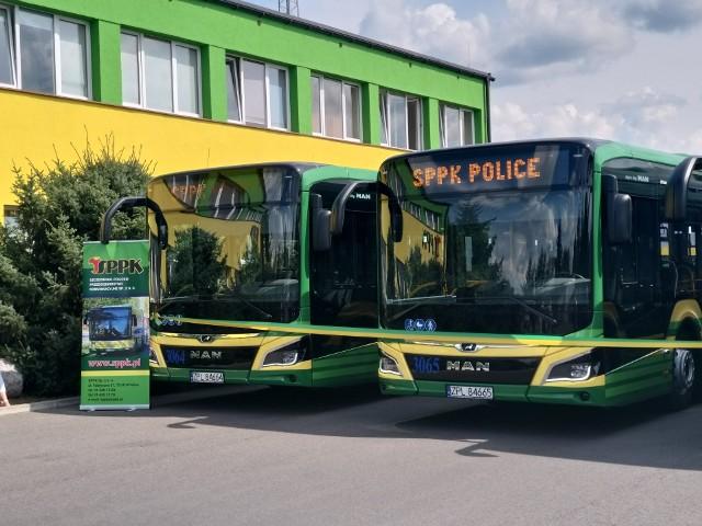Nowe autobusy hybrydowe w Policach
