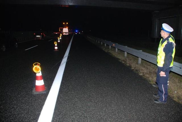 Pijana kobieta w ciąży spowodowała wypadek na autostradzie A1 w miejscowości Rębielcz