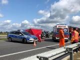 Śmiertelny wypadek na S8 pod Oleśnica. W zderzeniu 4 aut zginęło 5-letnie dziecko (ZDJĘCIA)