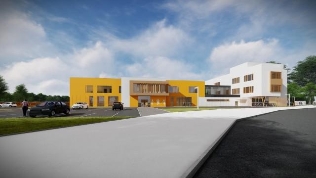 Budynek jest zaplanowany na około 300 przedszkolaków i 450 uczniów. Powstanie do 2021 roku.
