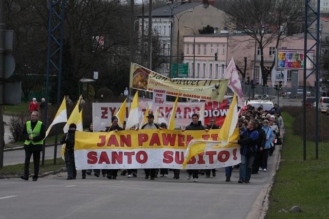 Biały Marsz przeszedł ulicami Gorzowa