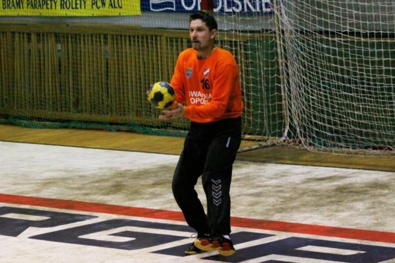 Bramkarz Sławomir Donosewicz to najbardziej doświadczony zawodnik Gwardii Opole i jej bardzo mocny punkt.
