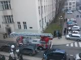 Pożar na AGH w Krakowie. Ewakuowano 300 osób [ZDJĘCIE]