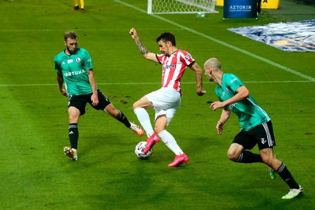W ostatnim ligowym meczu, 11 lipca, Legia wygrała z Cracovią 2:0