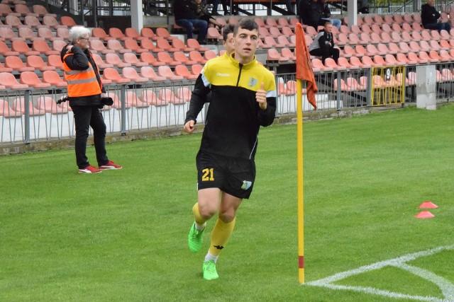 Leonard Zmarzlik strzelił dla rezerw Siarki dwa gole z czterech, które wpuścił bramkarz rywali