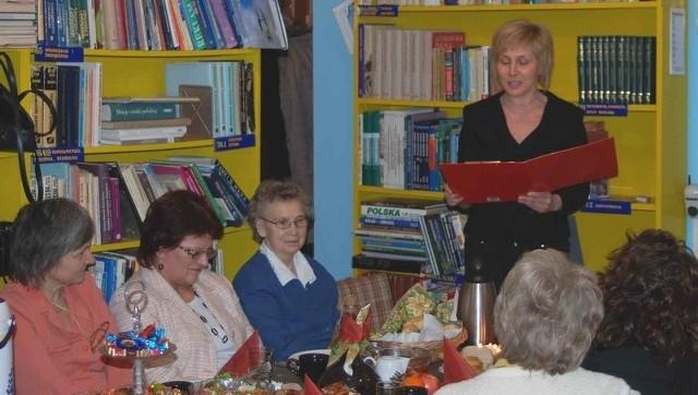 Spotkanie odbyło się w przechlewskiej bibliotece.