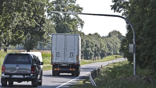 Odcinkowy pomiar prędkości koło Sulechowa nie działa, bo... nie ma tam prądu.