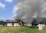 Pożar domu pod Goleniowem. Zostali bez dachu nad głową