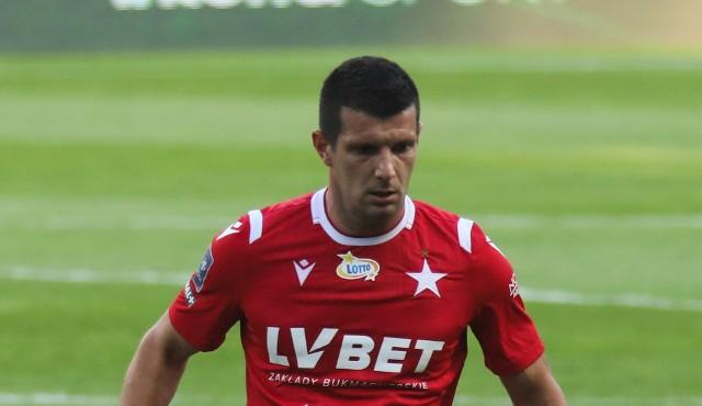 Fatos Beqiraj grał w Wiśle Kraków jesienią 2020 roku