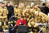 Rudno. Drony na służbie u strażaków. Mogą sprawdzić się w akcjach poszukiwawczo-ratowniczych. Testowały je cztery jednostki [ZDJĘCIA]