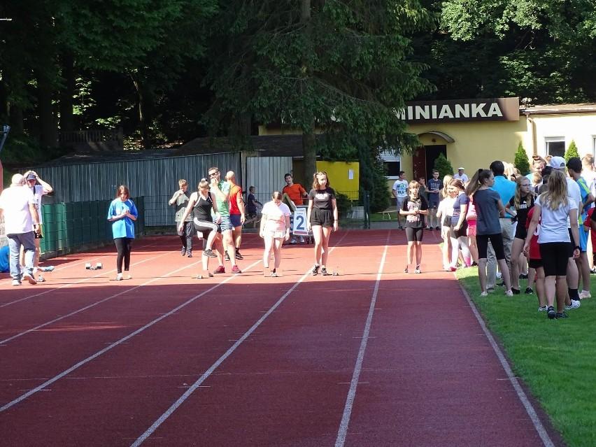 Czwartek Lekkoatletyczny na stadionie w Chełmnie