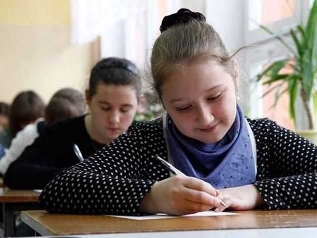 Uczniowie napisali egzamin.