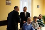 Pierwszy dzień byłego marszałka Adama Matusiewicza w nowej pracy [ZDJĘCIA]