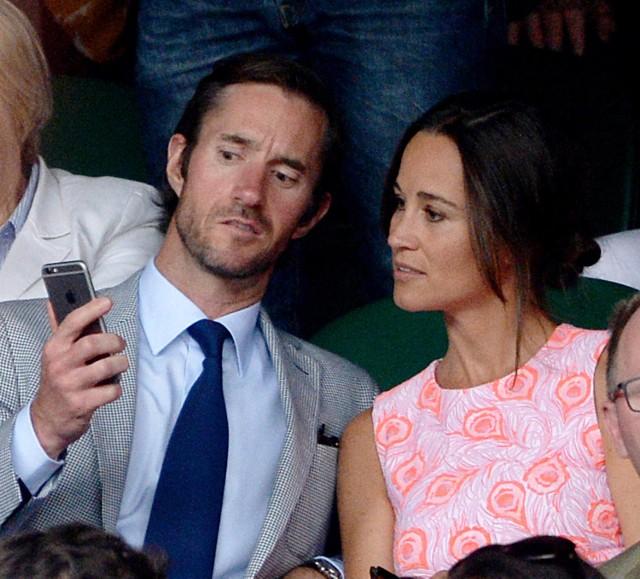 Pippa Middleton i James Matthews zaręczyli się