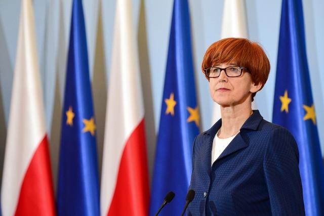 Minister Elżbieta Rafalska chce zabezpieczenia dla rodzin.