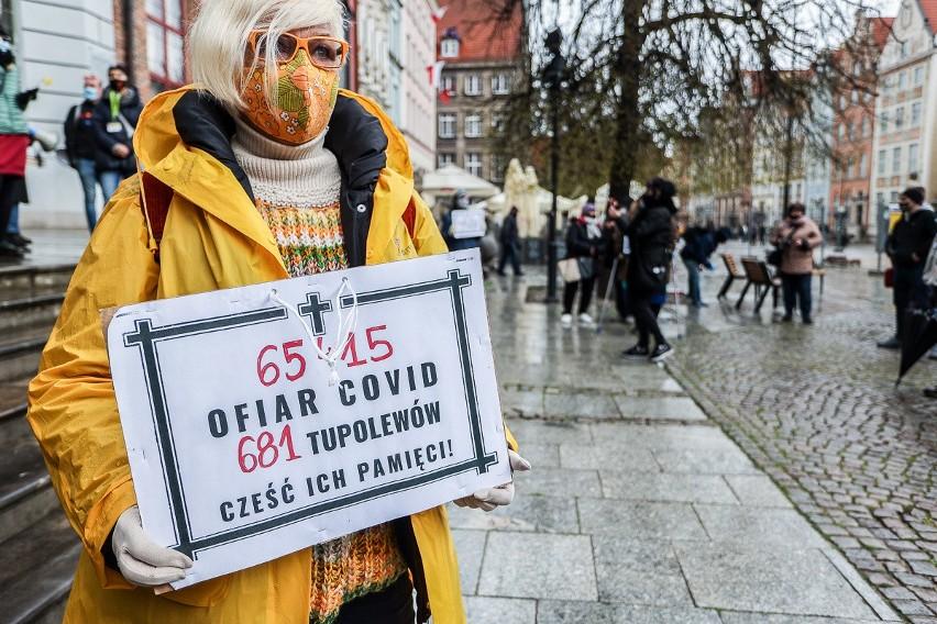 """Happening w Gdańsku """"Przemilczani - upamiętnienie ofiar..."""