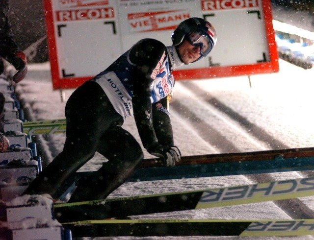 Adam Małysz w dzisiejszym konkursie w Zakopanem nie zdobędzie punktów.