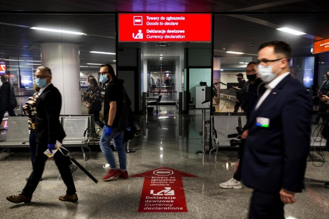 Lotnisko Chopina w pandemii