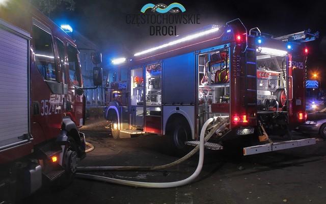Częstochowa: Tragiczny pożar na ulicy Starej. Znaleziono zwłoki mężczyzny
