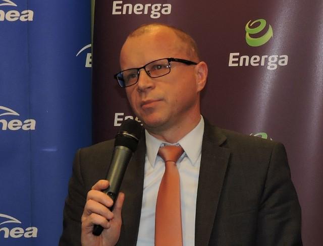 Dariusz Kaśków - były już prezes spółki Energa