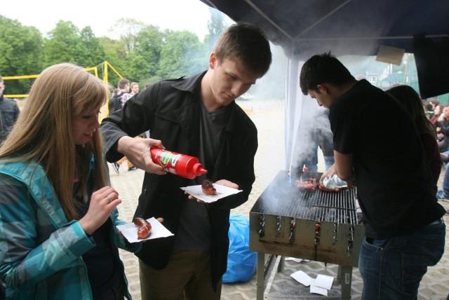 IGRY 2014 Gliwice: Studenci świętują. We wtorek wielkie grillowanie