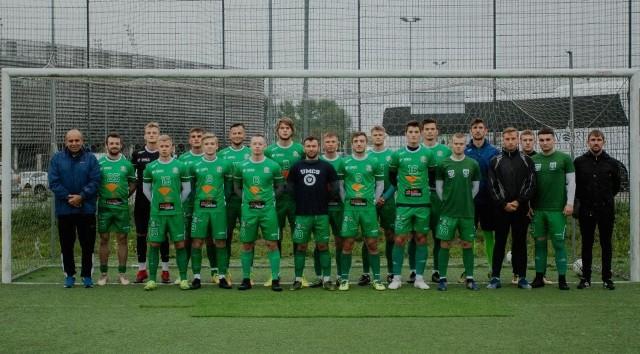 Drużyna piłkarzy Uniwersytetu Marii Curie-Skłodowskiej w Lublinie