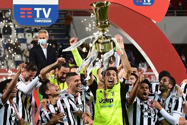 Szczęsny zdobył Puchar Włoch, choć w bramce Juventusu stał Buffon