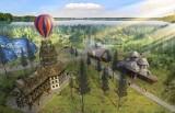 Wielka inwestycja nad Sielpią. Wieża z balonem, basen jak egzotyczna wyspa i domki na drzewie. Nad zalewem powstanie Holiday Park