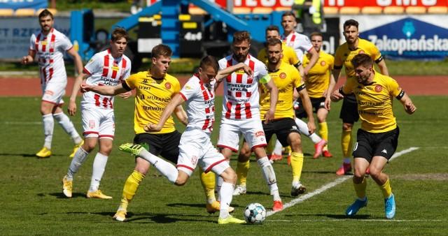 Resovia w maju pokonała u siebie Widzew Łódź 2:0 w meczu ligowym