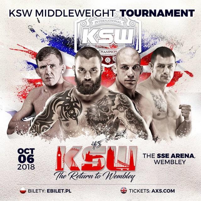 Gala KSW 45 już 6 października. Sprawdź gdzie odbędzie się transmisja online.