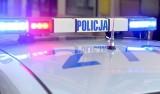 Wypadek w miejscowości Parkosz pow. dębicki.  Samochód osobowy wywrócił się i zablokował jezdnię