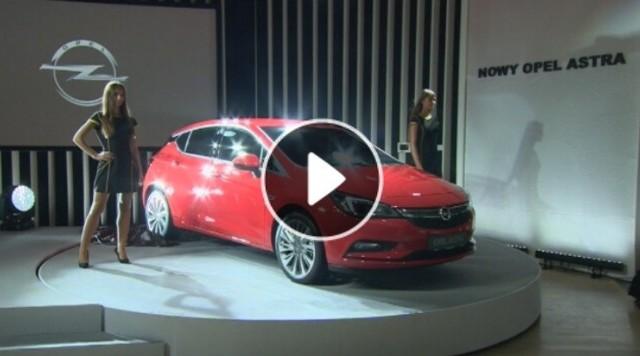 Nowy Opel Astra z Gliwic zaprezentowany w Warszawie