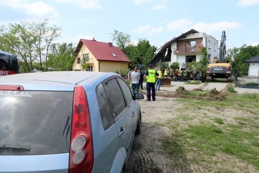 Prokuratura bada sprawę wybuchu gazu w Chodlu w powiecie opolskim