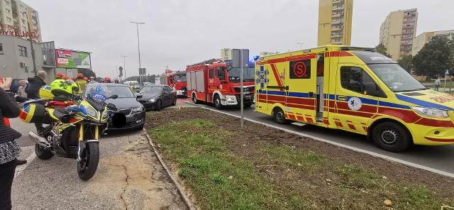 Do zdarzenia doszło w czwartek, 23 września, po godz. 10 w okolicy skrzyżowania ulic Kujawskiej i Konopnickiej w Bydgoszczy.