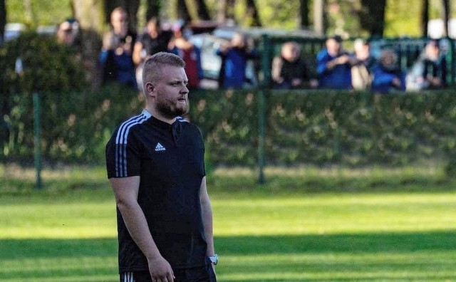 Trener Bartosz Gaweł