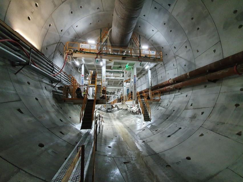 Połowa tunelu w Świnoujściu wydrążona! Zobacz zdjęcia