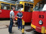 W grudziądzkiej zajezdni tramwajowej [zdjęcia]