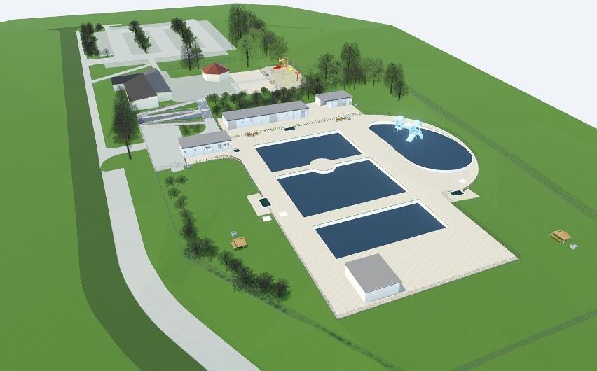 Tak będzie wyglądał nowy kompleks basenów w Parku Grabek w...