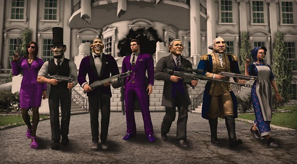 Saints Row IVSaints Row IV: dodatek Presidential Pack to stroje i maski kilku prezydentów USA.