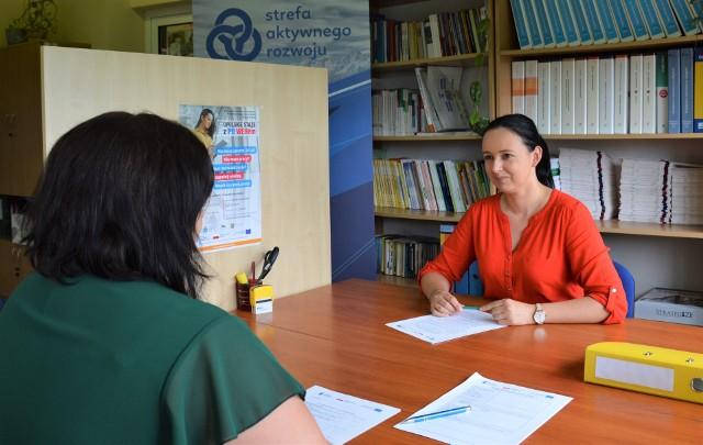 Rozmowa z doradcą zawodowym w Wojewódzkim Urzędzie Pracy w Opolu