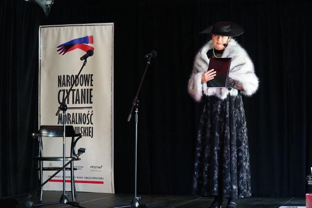 W Pałacu Działyńskich oraz Bibliotece Raczyńskich odbyło się Narodowe Czytanie