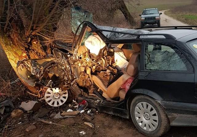 Wypadek na trasie Oracze-Siedliska