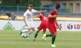 Sylwester Lusiusz, piłkarz reprezentacji po meczu drużyn U20 Polska - Portugalia w Rzeszowie: Fajnie zagrać blisko domu