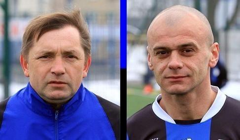 Z lewej Mariusz Kuras, z prawej Jacek Kosmalski.
