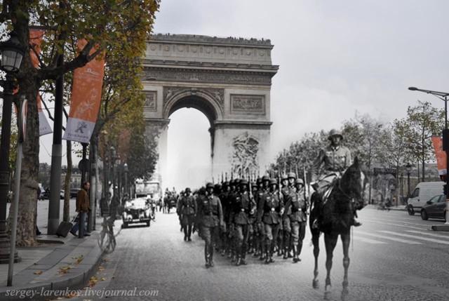 Świadomość wydarzeń historycznych jest niezwykle ważna z kilku powodów. Wszystkim, którzy poświęcili dla nas życie, jesteśmy winni pamięć. Znajomość faktów i historycznych schematów może także uchronić naszą przyszłość. Dlatego też przechadzając się ulicami współczesnych miast, odpoczywając w parku lub na plaży musimy pamiętać o tym, co działo się tu wcześniej. Nie sposób dziś spacerować po Warszawie bez świadomości, że przemierzamy te same ścieżki co Warszawscy Powstańcy lub mieszkańcy Getta. Podobnie rzecz ma się w przypadku innych miast. Jak przypominają nam o tym fotografowie? Oto najlepsze kolaże unaoczniające wydarzenia, o których nie możemy nigdy zapominać.