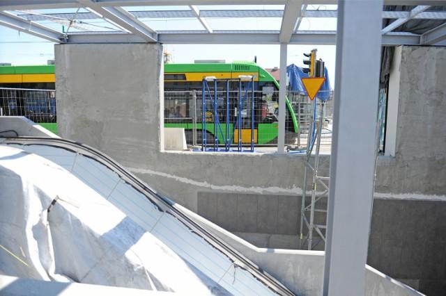 ZTM Poznań chciałby, by jeszcze w tym roku można było przejechać tramwajem z Kaponiery na św. Marcin