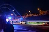 Jurowce. Pijany kierowca miał wypadek na S8. Próbował uciec (zdjęcia)