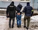 Poszukiwany od pięciu dni uciekinier z białostockiej prokuratury jest już w rękach policji (zdjęcia)