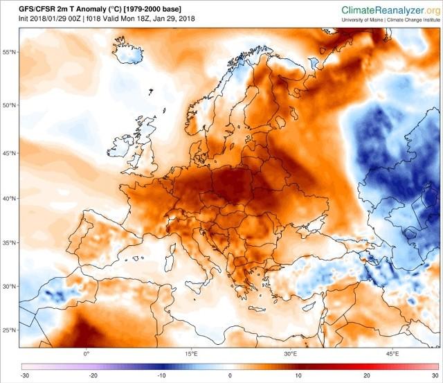 Pogoda Dlugoterminowa W Calej Europie Cieplo Mapa Czy Bedzie