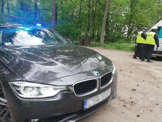 """14 września policjanci z grupy """"Speed"""" w Grudziądzu patrolowali drogi powiatu grudziądzkiego"""